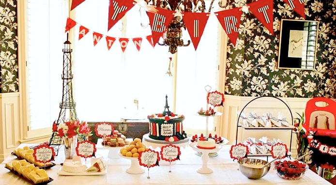 Kara S Party Ideas Parisian Birthday Party Planning Ideas