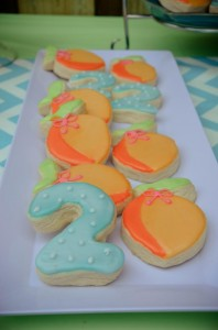 Peach Stand 2nd Birthday Party with DARLING IDEAS via Kara's Party Ideas | Kara'sPartyIdeas.com #Peaches #Harvesting #Summer #PartyIdeas #Supplies (4)