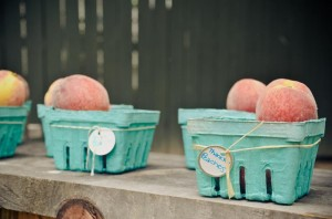 Peach Stand 2nd Birthday Party with DARLING IDEAS via Kara's Party Ideas | Kara'sPartyIdeas.com #Peaches #Harvesting #Summer #PartyIdeas #Supplies (28)