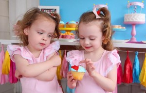 Peppa Pig Twins Party with LOTS of CUTE IDEAS via Kara's Party Ideas | KarasPartyIdeas.com #Pig #Party #Ideas #Supplies (1)