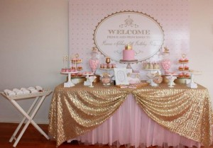 Pink and Gold Princess Party So Many Really Cute Ideas via Kara's Party Ideas KarasPartyIdeas.com #RoyalPrincess #Party #Ideas #Supplies (33)