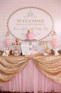 Pink and Gold Princess Party So Many Really Cute Ideas via Kara's Party Ideas KarasPartyIdeas.com #RoyalPrincess #Party #Ideas #Supplies (7)
