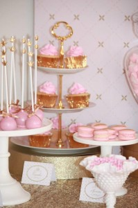 Pink and Gold Princess Party So Many Really Cute Ideas via Kara's Party Ideas KarasPartyIdeas.com #RoyalPrincess #Party #Ideas #Supplies (32)