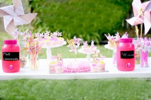 Pink Lemonade and Pinwheels 1st Birthday Party with REALLY CUTE Ideas via Kara's Party Ideas | KarasPartyIdeas.com #Girly #Party #Ideas #Supplies (15)