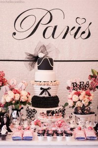 Pink Paris Birthday Party Full of Cute Ideas via Kara's Party Ideas | Kara'sPartyIdeas.com #Paris #Chanel #Party #Ideas #Supplies (13)