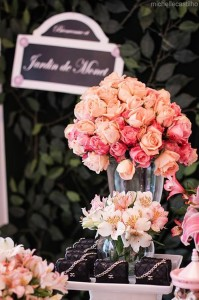 Pink Paris Birthday Party Full of Cute Ideas via Kara's Party Ideas | Kara'sPartyIdeas.com #Paris #Chanel #Party #Ideas #Supplies (11)