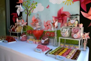 Pinwheel Themed Baby Shower with Lots of Cute Ideas via Kara's Party Ideas   KarasPartyIdeas.com #Pinwheels #Party #Ideas #Supplies (9)