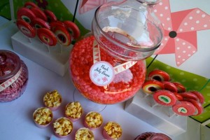 Pinwheel Themed Baby Shower with Lots of Cute Ideas via Kara's Party Ideas | KarasPartyIdeas.com #Pinwheels #Party #Ideas #Supplies (4)