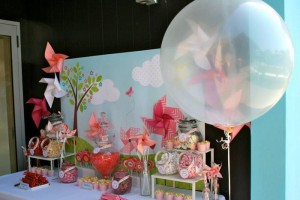 Pinwheel Themed Baby Shower with Lots of Cute Ideas via Kara's Party Ideas | KarasPartyIdeas.com #Pinwheels #Party #Ideas #Supplies (2)