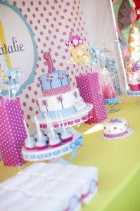 Pinwheels and Polka Dots 1st Birthday Party with Full of Adorable Ideas via Kara's Party Ideas | KarasPartyIdeas.com #LittleGirl #Party #Ideas #Supplies (9)