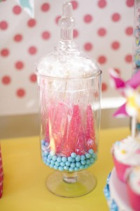 Pinwheels and Polka Dots 1st Birthday Party with Full of Adorable Ideas via Kara's Party Ideas | KarasPartyIdeas.com #LittleGirl #Party #Ideas #Supplies (8)