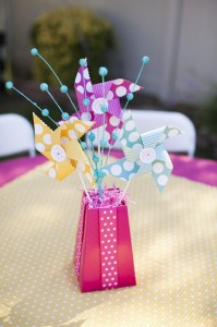 Pinwheels and Polka Dots 1st Birthday Party with Full of Adorable Ideas via Kara's Party Ideas | KarasPartyIdeas.com #LittleGirl #Party #Ideas #Supplies (2)