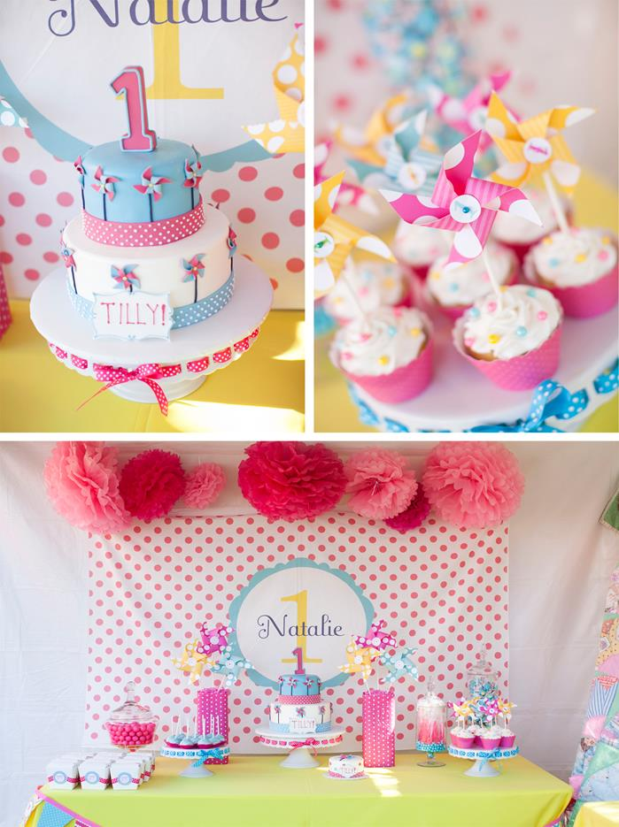 kara 39 s party ideas pinwheels and polka dots 1st birthday
