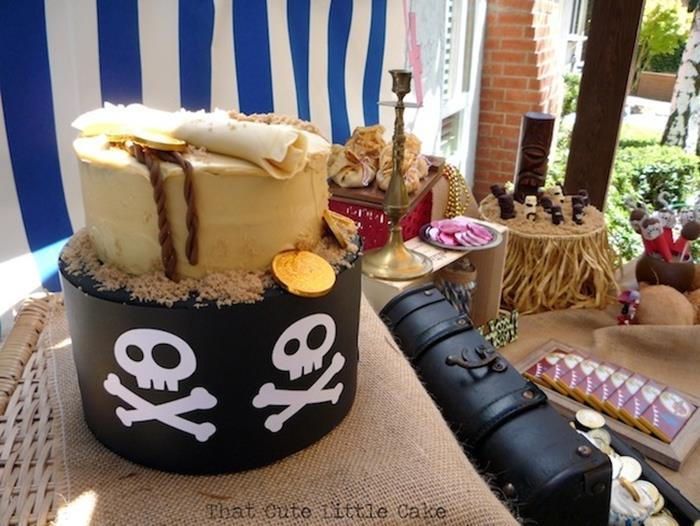 Surprising Karas Party Ideas Neverland Pirate Ideas Supplies Idea Cake Funny Birthday Cards Online Inifofree Goldxyz