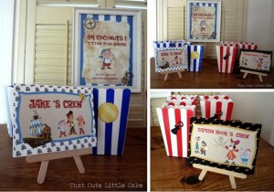 Jake and the Neverland Pirates Party with Full of Fun Ideas via Kara's Party Ideas | KarasPartyIdeas.com #Pirate #Hook #Party #Ideas #Supplies (6)