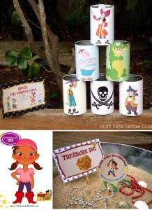 Jake and the Neverland Pirates Party with Full of Fun Ideas via Kara's Party Ideas | KarasPartyIdeas.com #Pirate #Hook #Party #Ideas #Supplies (5)