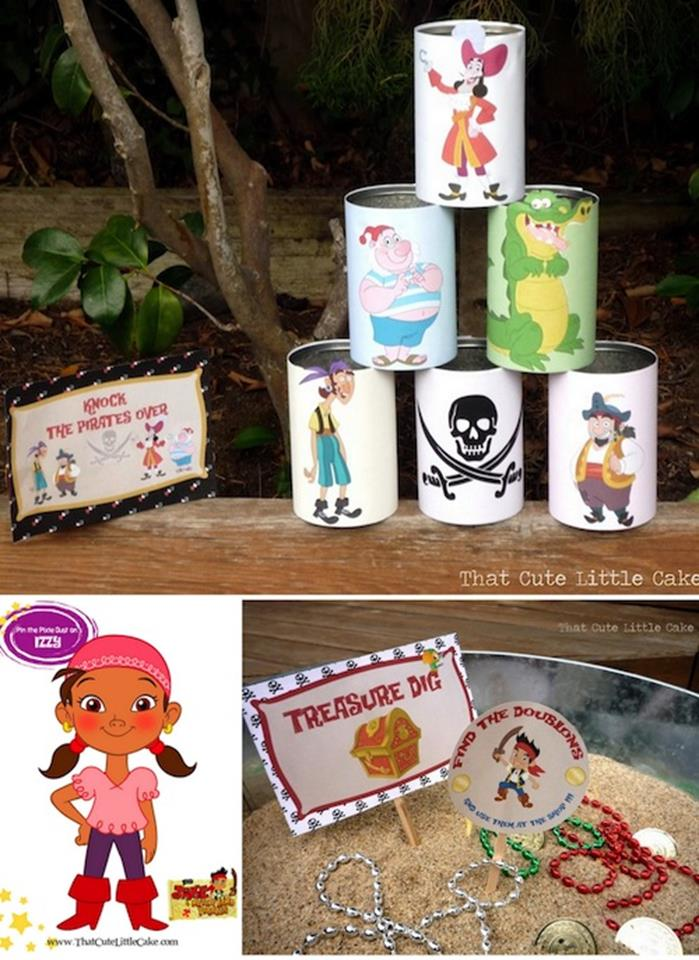 Jake And The Neverland Pirates Birthday Party Ideas ...