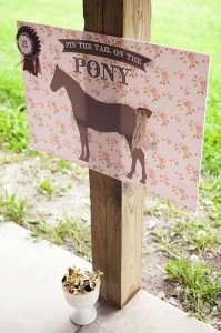 Vintage Pony Party with So Many REALLY CUTE Ideas via Kara's Party Ideas | Kara'sPartyIdeas.com #Vintage #Horse #Pony #Party #Ideas #Supplies (34)