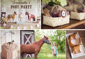 Vintage Pony Party with So Many REALLY CUTE Ideas via Kara's Party Ideas | Kara'sPartyIdeas.com #Vintage #Horse #Pony #Party #Ideas #Supplies (40)