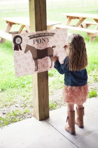 Vintage Pony Party with So Many REALLY CUTE Ideas via Kara's Party Ideas | Kara'sPartyIdeas.com #Vintage #Horse #Pony #Party #Ideas #Supplies (3)