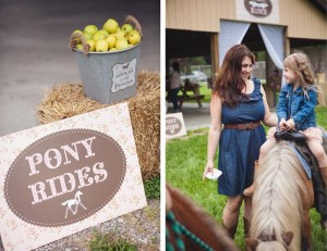 Vintage Pony Party with So Many REALLY CUTE Ideas via Kara's Party Ideas | Kara'sPartyIdeas.com #Vintage #Horse #Pony #Party #Ideas #Supplies (37)