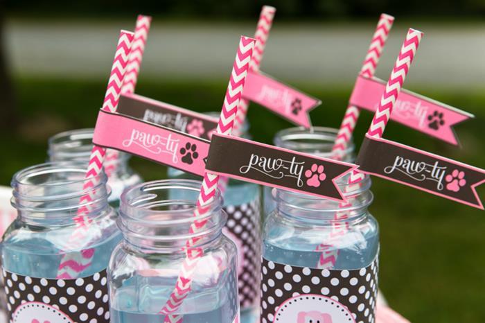 kara u0026 39 s party ideas pink puppy party planning ideas supplies idea dog cake decorations
