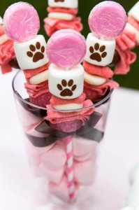 Pink Puppy Party Full of Darling Ideas Ideas via Kara's Party Ideas | KarasPartyIdeas.com #Dog #Party #Ideas #Supplies (16)