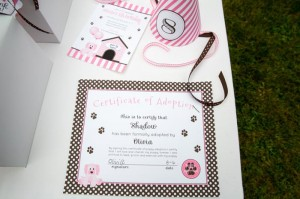 Pink Puppy Party Full of Darling Ideas Ideas via Kara's Party Ideas | KarasPartyIdeas.com #Dog #Party #Ideas #Supplies (6)
