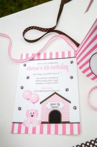 Pink Puppy Party Full of Darling Ideas Ideas via Kara's Party Ideas | KarasPartyIdeas.com #Dog #Party #Ideas #Supplies (5)