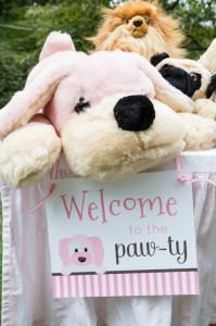 Pink Puppy Party Full of Darling Ideas Ideas via Kara's Party Ideas | KarasPartyIdeas.com #Dog #Party #Ideas #Supplies (2)