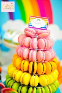 Girly Rainbow 5th Birthday Party with Lots of CUTE IDEAS via Kara's Party Ideas | Kara'sPartyIdeas.com #Colorful #Rainbow #Party #Ideas #Supplies #Girl (11)