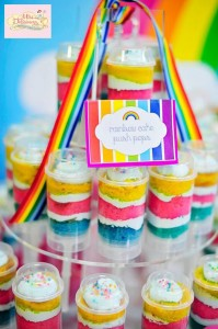 Girly Rainbow 5th Birthday Party with Lots of CUTE IDEAS via Kara's Party Ideas | Kara'sPartyIdeas.com #Colorful #Rainbow #Party #Ideas #Supplies #Girl (1)