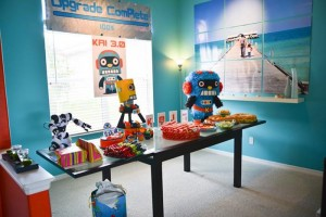 Robot Themed Birthday Party with Lots of Fun Ideas via Kara's Party Ideas | KarasPartyIdeas.com #Robots #Party #Ideas #Supplies (6)