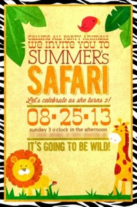 DIY Safari Party with Lots of Awesome Ideas via Kara's Party Ideas | KarasPartyIdeas.com #DIY #AfricanSafari #Party #Ideas (3)