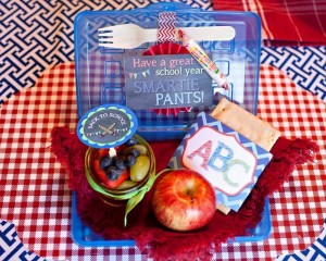 Back to School Breakfast with SUCH CUTE IDEAS via Kara's Party Ideas | KarasPartyIdeas.com #FirstDayofSchool #Party #Ideas #Supplies (11)