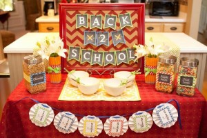 Back to School Breakfast with SUCH CUTE IDEAS via Kara's Party Ideas | KarasPartyIdeas.com #FirstDayofSchool #Party #Ideas #Supplies (2)
