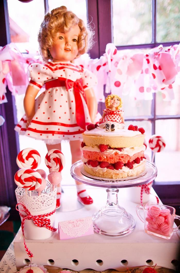 Kara 39 s party ideas shirley temple inspired 2nd birthday for 2nd birthday party decoration ideas
