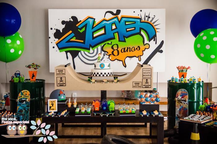 Kara S Party Ideas Skater Skate Park Party Planning Ideas Supplies