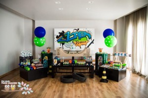 Skater+Skate Park Party Full of Fabulous Ideas via Kara's Party Ideas | KarasPartyIdeas.com #Skateboard #Party #Ideas #Supplies (7)
