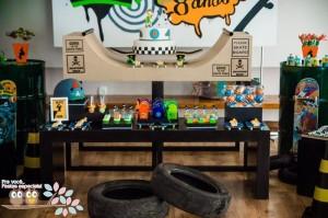 Skater+Skate Park Party Full of Fabulous Ideas via Kara's Party Ideas | KarasPartyIdeas.com #Skateboard #Party #Ideas #Supplies (5)