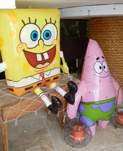 Spongebob Birthday Party with Lots of Really Fun Ideas via Kara's Party Ideas Shop | Kara'sPartyIdeas.com #SpongebobSquarePants #GenderNeutral #Party #Ideas #Supplies (9)