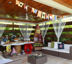 Spongebob Birthday Party with Lots of Really Fun Ideas via Kara's Party Ideas Shop   Kara'sPartyIdeas.com #SpongebobSquarePants #GenderNeutral #Party #Ideas #Supplies (5)