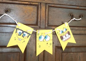 Spongebob Birthday Party with Lots of Really Fun Ideas via Kara's Party Ideas Shop | Kara'sPartyIdeas.com #SpongebobSquarePants #GenderNeutral #Party #Ideas #Supplies (17)