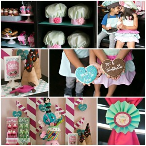 Sugar Rush Candy Party with Really Cute Ideas via Kara's Party Ideas | Kara'sPartyIdeas.com #WreckItRalph #SugarRush #Baking #Party #Ideas #Supplies (1)