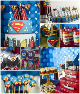 Superman Themed Birthday Party with So Many FABULOUS IDEAS via Kara's Party Ideas | Kara'sPartyIdeas.com #Superman #ClarkKent #Kryptonite #Party #Ideas #Supplies (1)