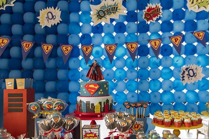 Kara S Party Ideas Superman Themed Birthday Party With So