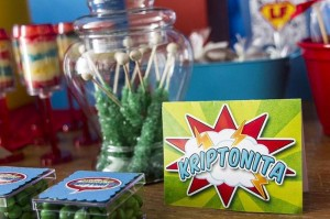Superman Themed Birthday Party with So Many FABULOUS IDEAS via Kara's Party Ideas | Kara'sPartyIdeas.com #Superman #ClarkKent #Kryptonite #Party #Ideas #Supplies (8)
