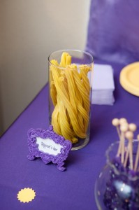 Tangle Birthday Party with Lots of Cute Ideas via Kara's Party Ideas Kara'sPartyIdeas.com #Rapunzel #Disney #Party #Ideas #Supplies (27)