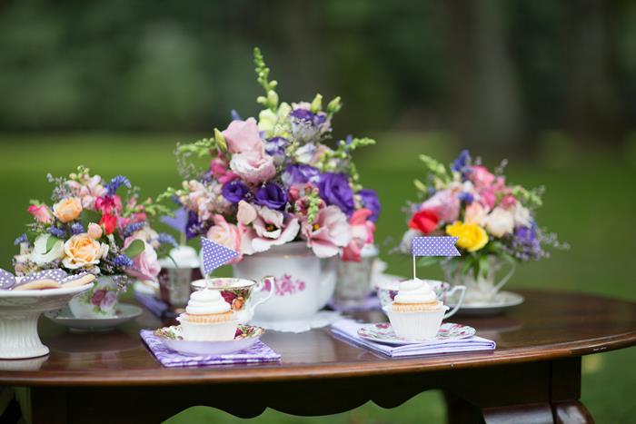 Karas Party Ideas Garden Tea Party with Lots of Really Cute Ideas via