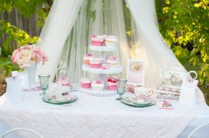 Vintage Rose Tea Party with Lots of Darling Ideas via Kara's Party Ideas | KarasPartyIdeas.com #Garden #TeaParty #Party #Ideas #Supplies (21)